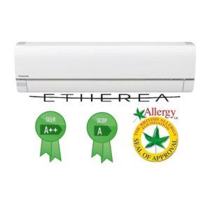 Panasonic ETHEREA Inverter klíma beltéri CS_28QKEW