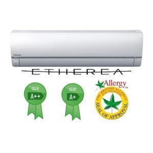 Panasonic ETHEREA Inverter klíma beltéri Szürke előlappal CS_XE18QKEW