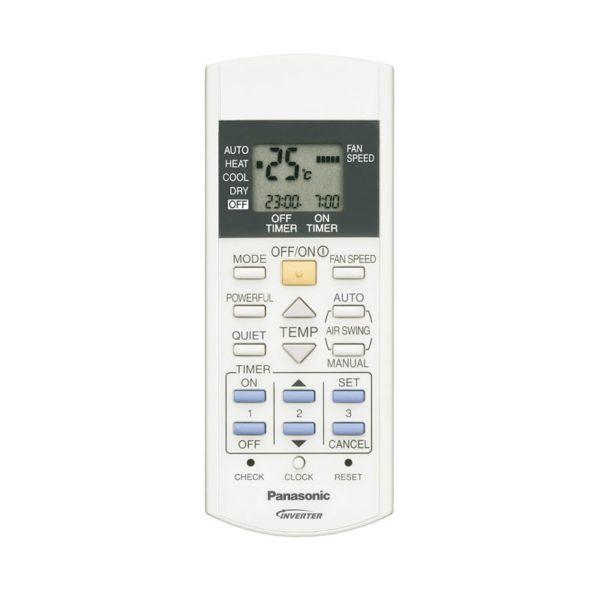 Panasonic KONZOL Inverteres klíma távirányító AC_RE_E9-18GFEW