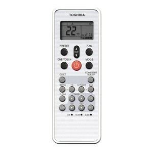 Toshiba Konzol Inverter klíma infra tavszabalyzo
