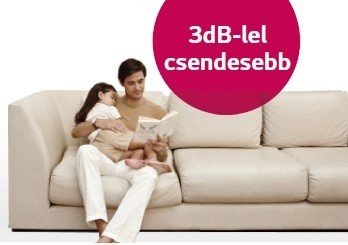 3db-vel csendesebb 1