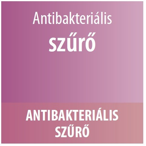 antibakteriális szűrő