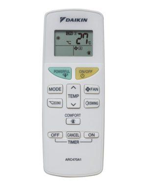 Daikin klíma távírányító ARC470A1