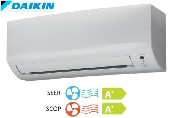 Daikin inverteres oldalfali mono split klíma FTXB20C_RXB20C