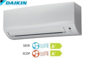 Daikin inverteres oldalfali mono split klíma FTXB35C_RXB35C
