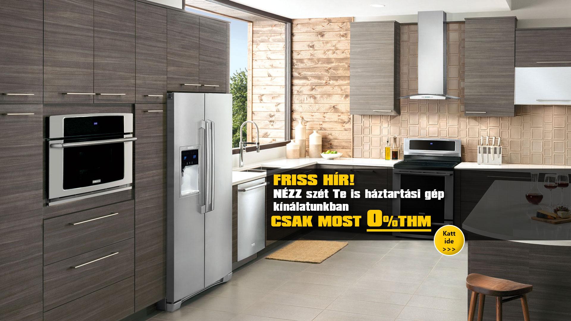0% THM ingyen hitel háztartási gépek